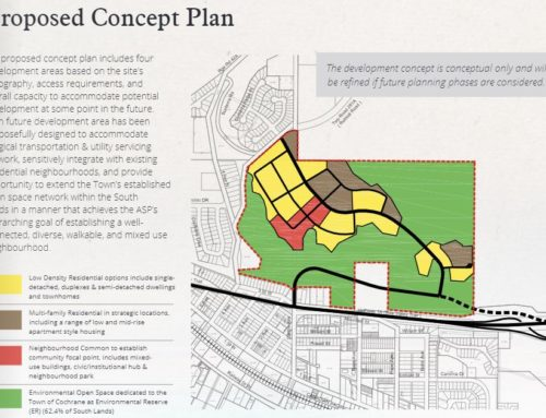Franciscan South Lands ASP Submitted to Town of Cochrane